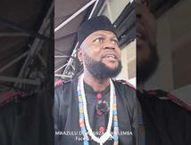 """MWAZULU DIYABANZA SIWA LEMBA """"REPOND AUX QUESTIONS DE AL JAZIRA"""""""