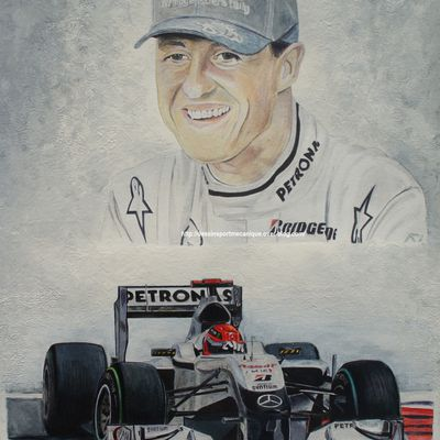 retraite pour Michael Schumacher..