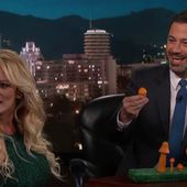 VIDEO - Jimmy Kimmel Live : Stormy Daniels se moque de l'anatomie de Donald Trump