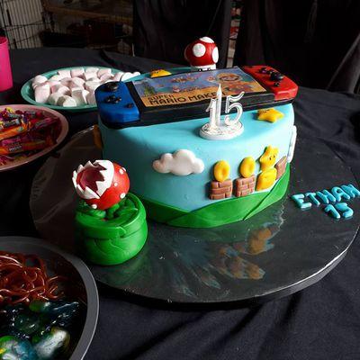 Gâteau Switch Nintendo