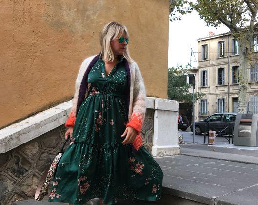 Fashion tip : le come back de la robe longue pour l'hiver