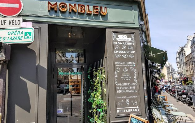 MonBleu (Paris 9) : fromages à gogo
