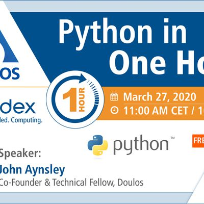 Webinar: Python in One Hour