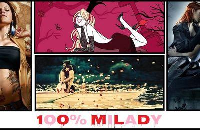 100 % Milady : Objectifs d'Avril 2013 !