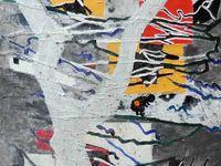 Peintures en 9 mois septembre 2013 à juin 2014 - Réalisées dans les cours d'Yves Desvaux Veeska.