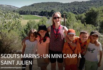SCOUTS MARINS : UN MINI CAMP À SAINT JULIEN
