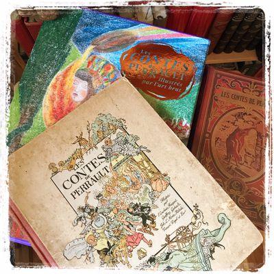 Les Contes de Perrault ne sont-ils destinés qu'aux enfants ? Et à l'art brut ?