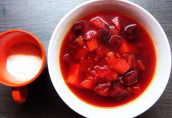 Bortch, soupe de betterave