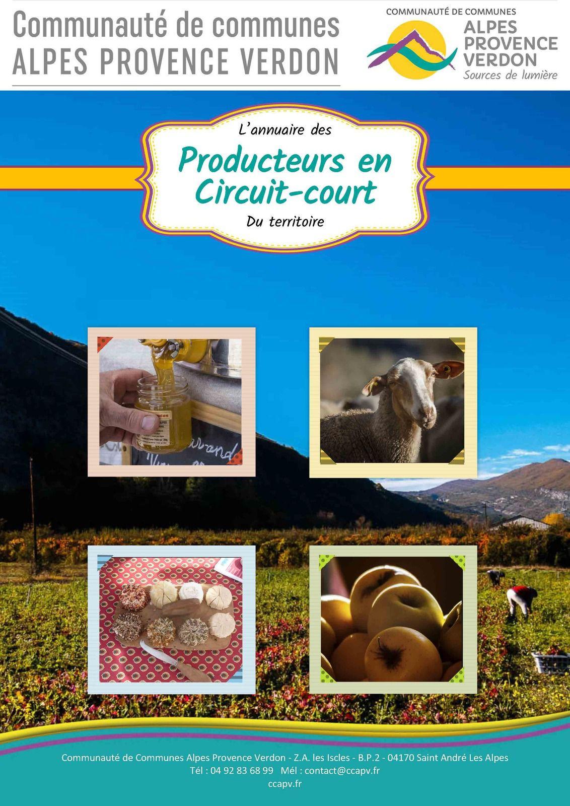 CCAPV: Annuaire des producteurs en circuits courts de la CCAPV