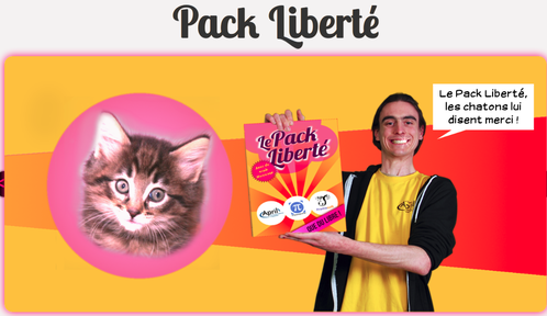 # 2 Le pack Liberté ... suivez l'April