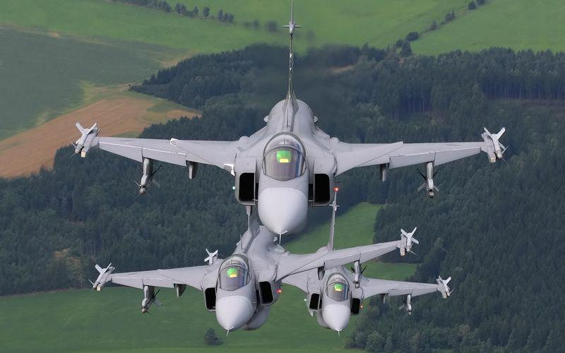 La République Tchèque propose ses Gripen pour protéger les espaces aériens des pays de l'est