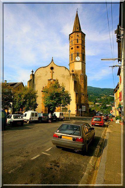 Diaporama église fortifiée de Massat
