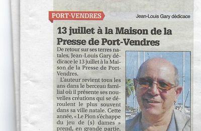 Le Petit Journal 10 juillet 2019 - Albères Côte Vermeille