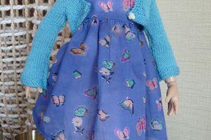 Maroussia en bleu
