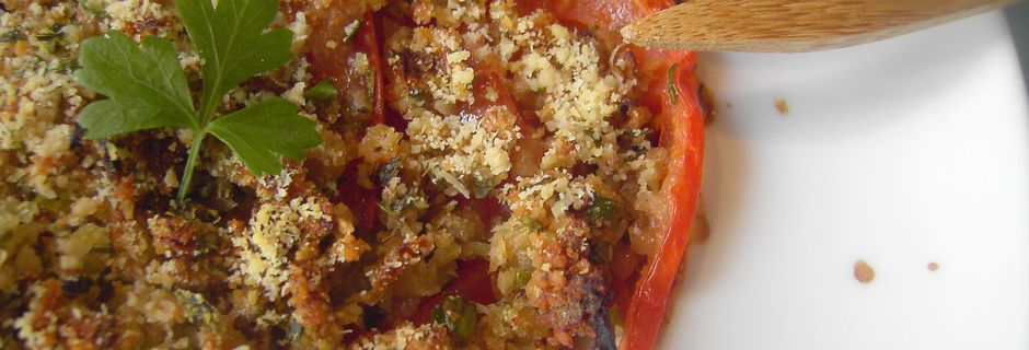 Crumble aux Tomates (recette ProPoint Weight-Watchers)