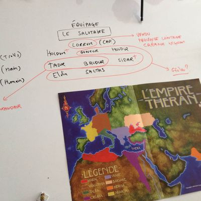 C5 : Résumé visuel des relations et PNJ connus