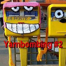 Street art - art de rue : N°2 - yarnbombing, knitted graffiti, knit art...
