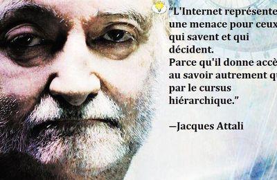 Citation Jacques ATTALI : par ces temps troubles les réseaux sociaux jouent un grand rôle - Gilets Jaunes