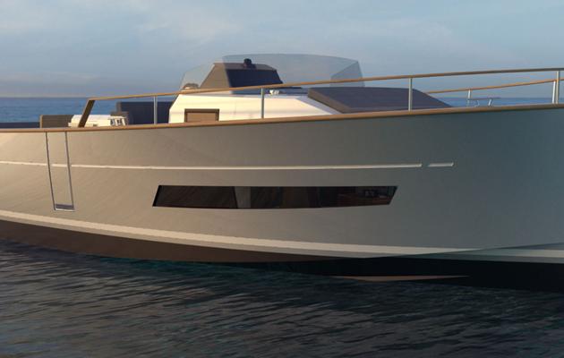 Le chantier Rhéa Marine lance le nouveau Rhéa 32 Open