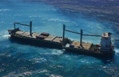 Nouvelle-Calédonie – Les fuites d'hydrocarbures du Kea Trader sans impact sur les organismes marins