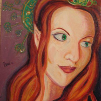 Portrait huile - final