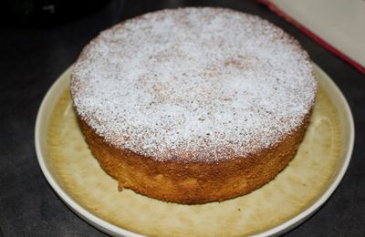 Torta al limone e mandorle (gâteau italien aux amandes, orange et citron)