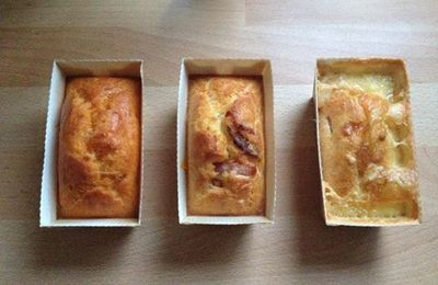 Petits cakes salés : 1 base = 3 recettes