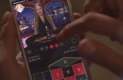 Net Entertainment optimise ses jeux de casino en direct sur mobile