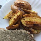 Potatoes à la plancha - auxdelicesdemanue