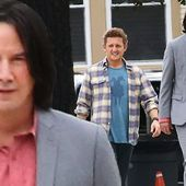 Keanu Reeves and Alex Winter spotted reprising roles as Bill & Ted