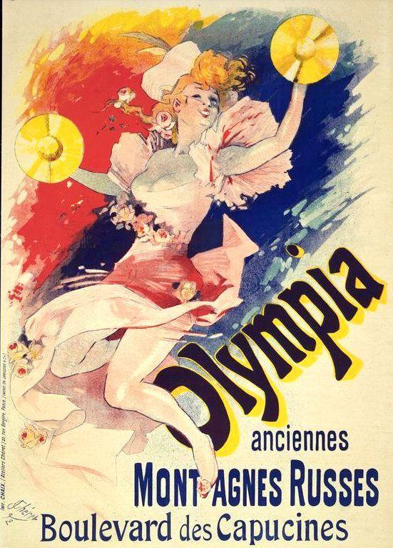 PUBLICITES :  LES  GRANDS  NOMS  DE  L'AFFICHE...     Jules  CHERET.     (PARTIE 3)