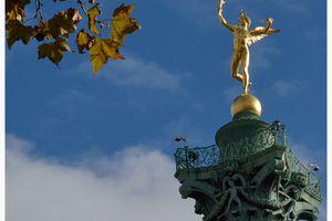 Le Génie de la Liberté, place de la Bastille à Paris