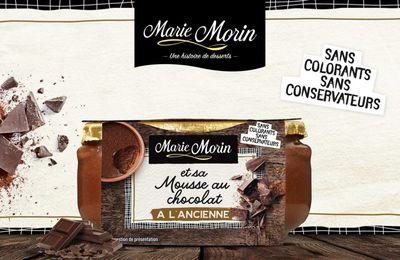 Test Mousse au chocolat marie Morin