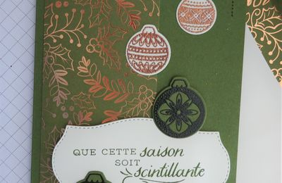 [Stampin'Up!®] Lot Ornemental Envelopes: un exemple de carte et astuce