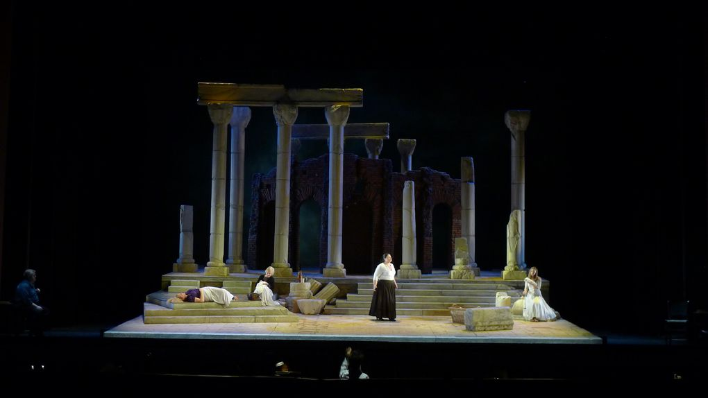 Creation of The Rape of Lucretia in Houston Opera. See details on blog.