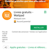 [Avis] L'application Wattpad