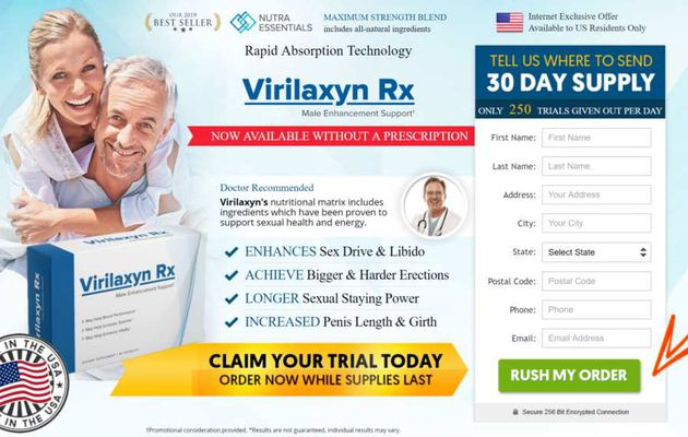 """Virilaxyn Rx"" : Male Enhancement Sex Drive PIlls & Long Time Suspend In Bed!"