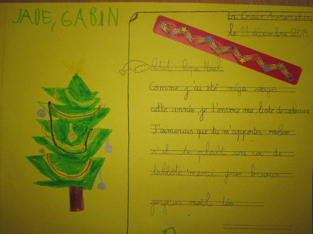 Les CP écrivent au Père Noël