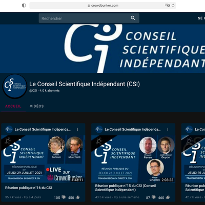 Conseil Scientifique Indépendant (1 à 16)