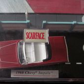 SCARFACE 1968 CHEVY IMPALA JADA TOYS 1/64 TONY MONTANA AL PACINO - car-collector.net