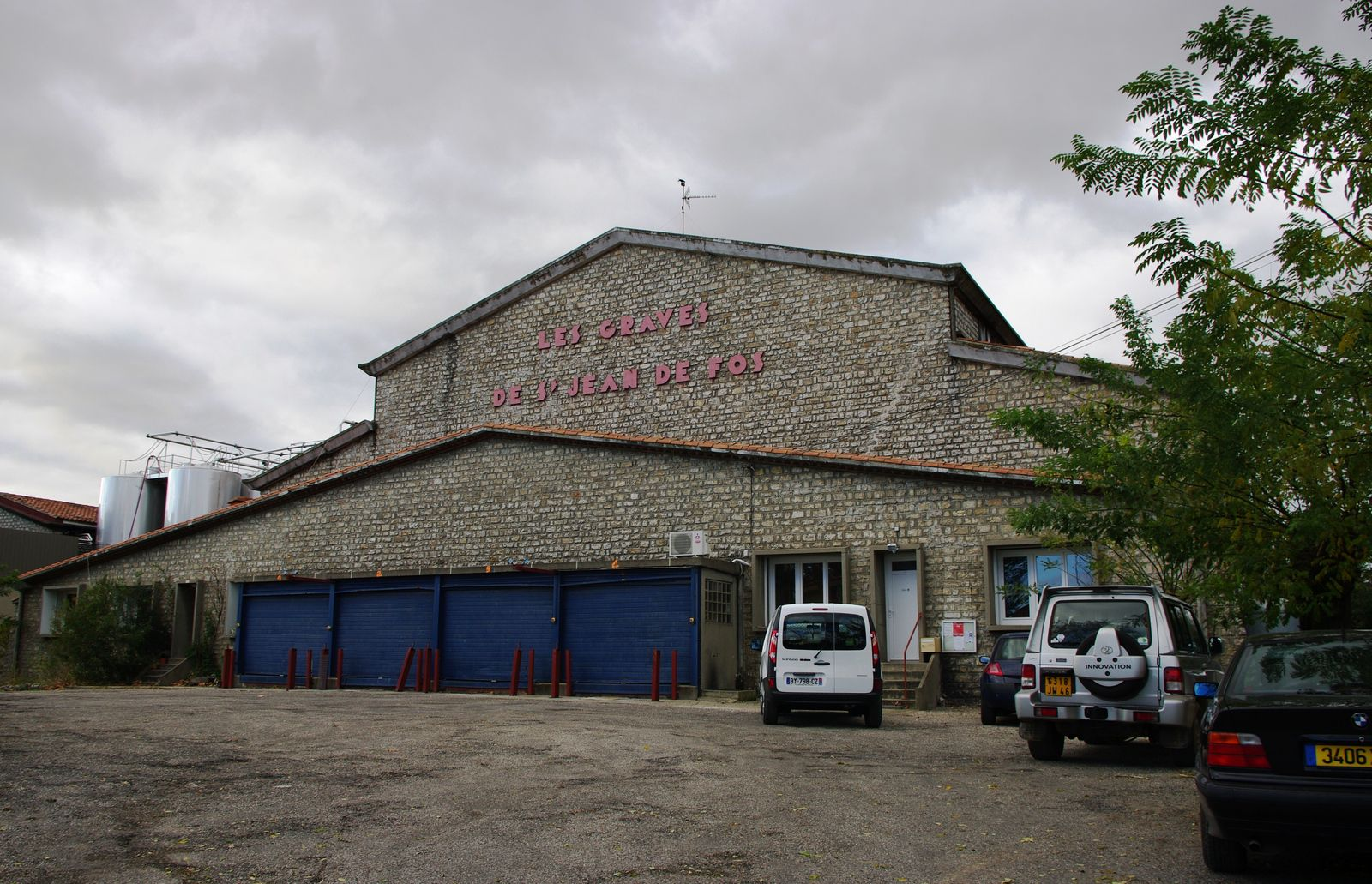 Cave coopérative de Saint-Jean-de-Fos.