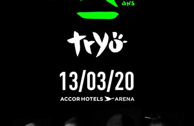Live XXV Tryo , concert AccorHotels Arena