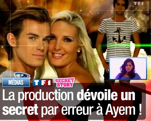 Secret Story 5 : La production dévoile un secret par erreur à Ayem !