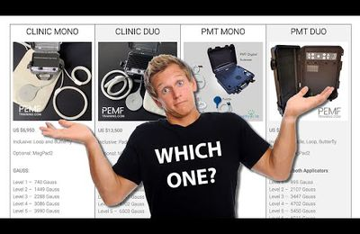 Which PEMF Device Suits Your Best - Clinic Mono, Clinic Duo, PMT Mono & PMT Duo - PEMF Training