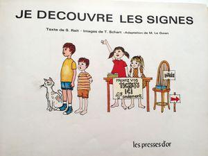 je découvre les signes livre vintage sur charlotteblabla blog
