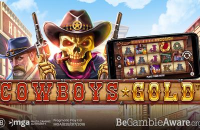 Des cowboys lucratifs dans la nouvelle machine à sous mobile Pragmatic Play