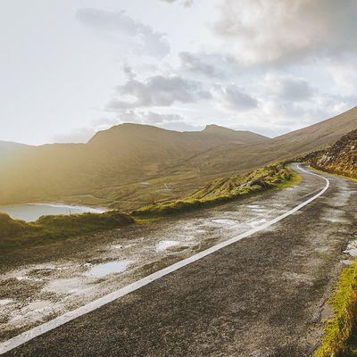 trip road via l'IRLANDE