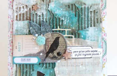 Cartes_Leftovers Mixed Media cards_Use what you have !