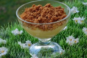 CRUMBLE POMMES SPECULOS (thermomix)