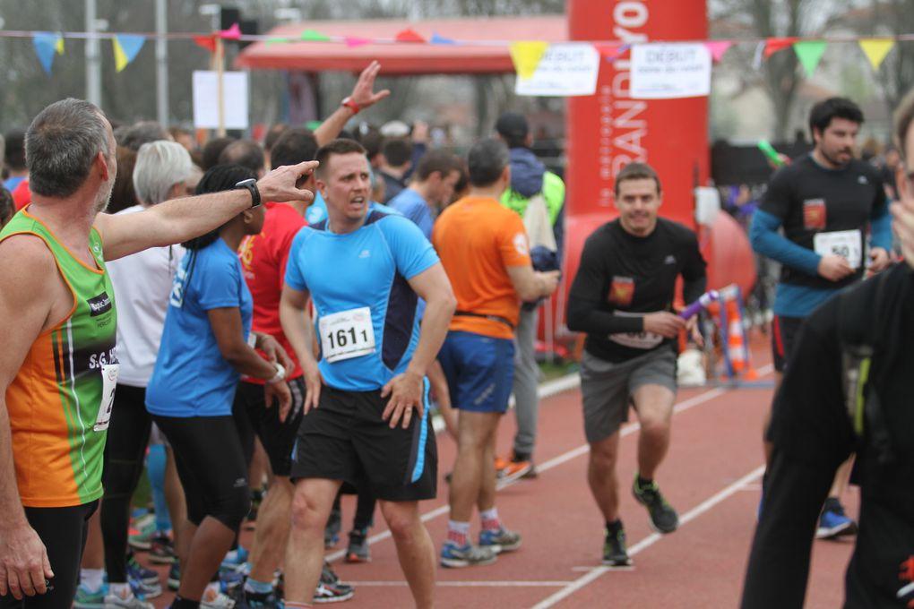 Plus de 1500 coureurs ont participé au 2e Ekiden de Lyon couru à ... Vénissieux !
